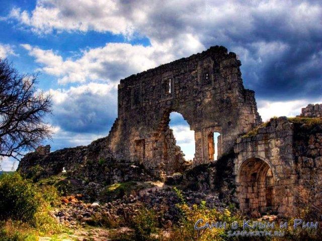 Останки пещерного города