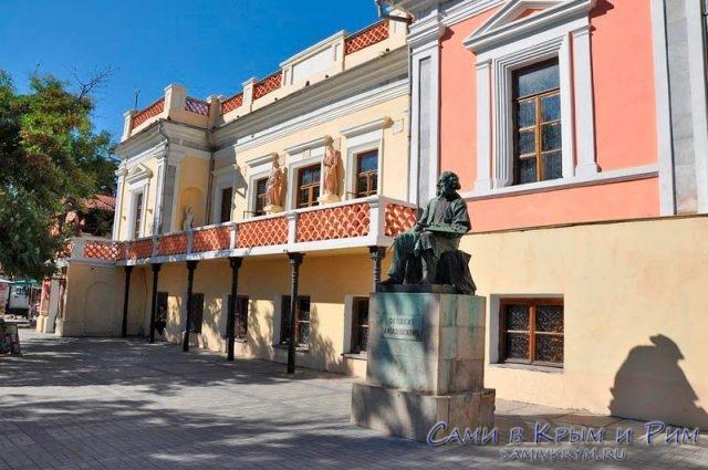 Памятник Ивану Константиновичу Айвазовскому