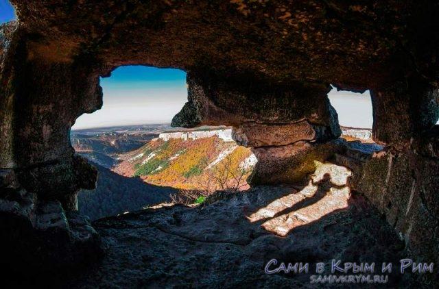 Пещеры города