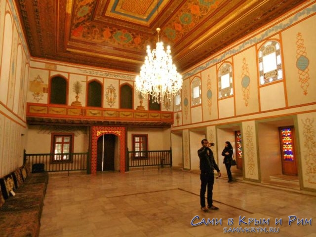 Приемные покои во дворце