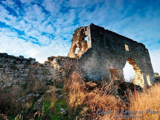 Развалины княжества Феодоро