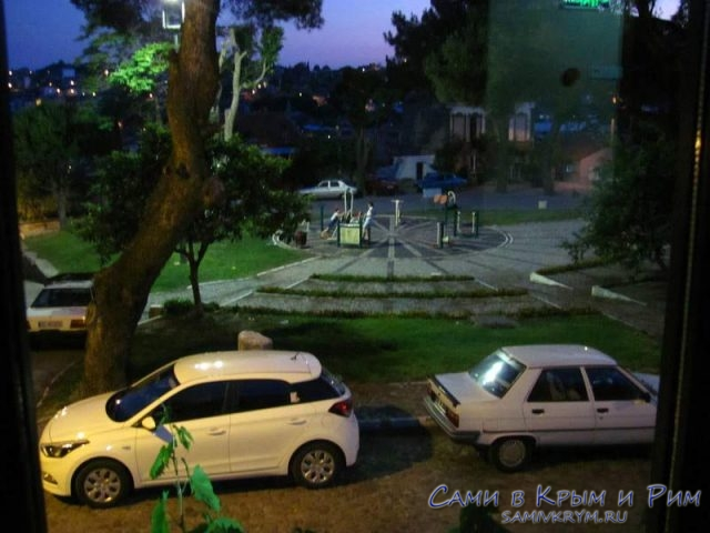 Вечером из нашего окна