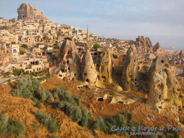 Вид на Каппадокии