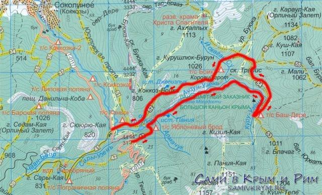 Как добраться до Большого каньона