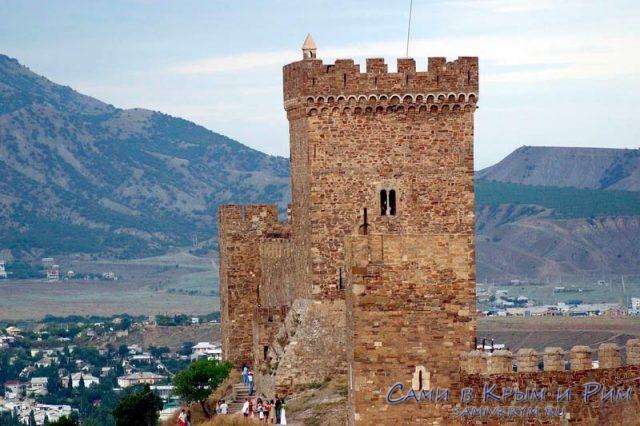 Девичья башня в Судаке