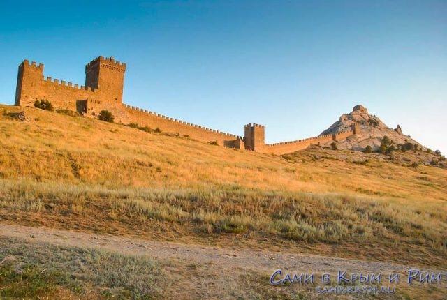 Крепость Судака