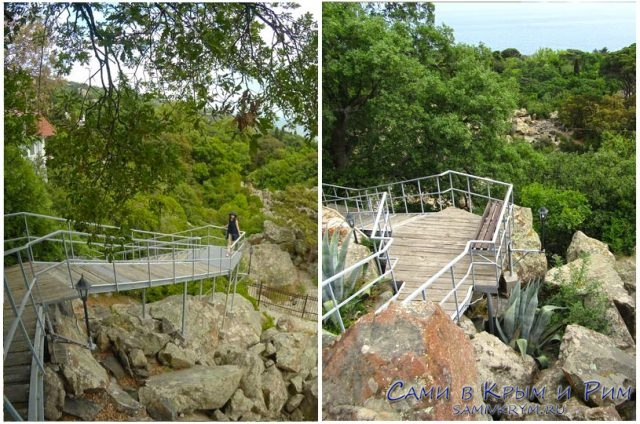 Лестница-прямо-в-Воронцовский-парк