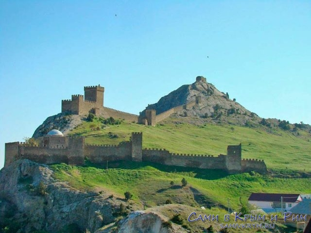 Обзор Судакской крепости