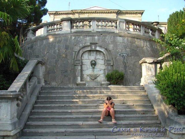 Парадная лестница ко дворцу