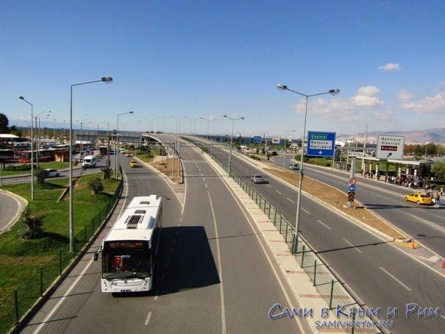 Транспортные развязки в центре Измира