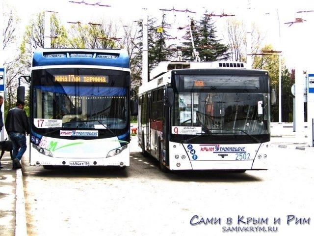 Троллейбусы из аэропорта