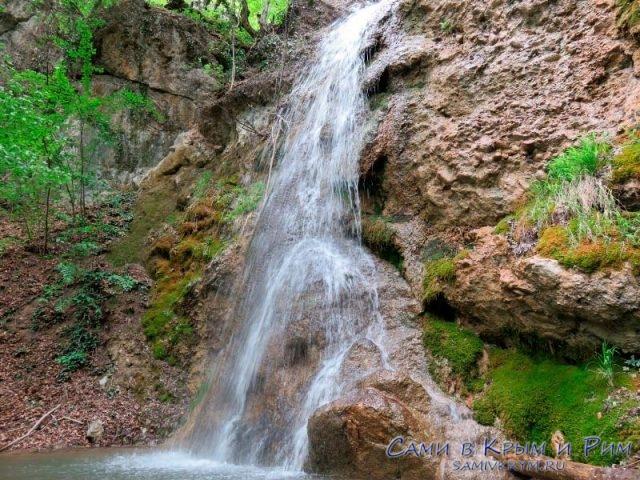 Ускутские-водопады