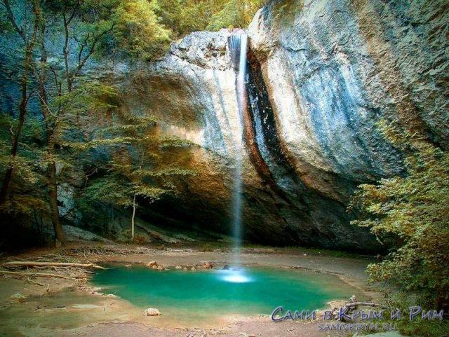 Водопад-Козырек