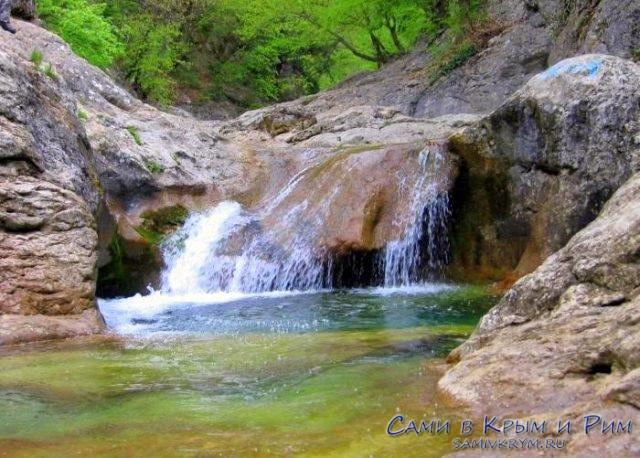 Водопады арпатские в Зеленогорье