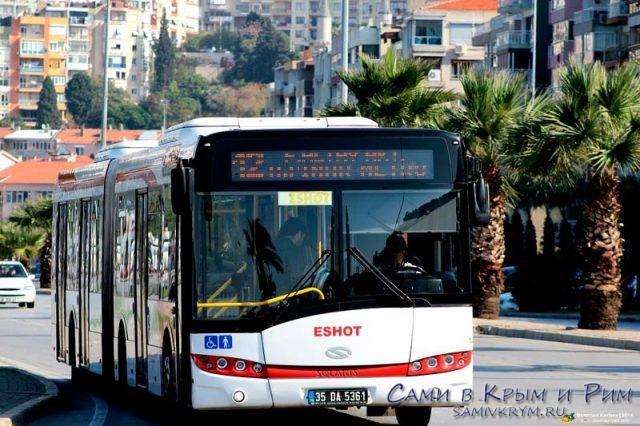 Автобус компании Eshot