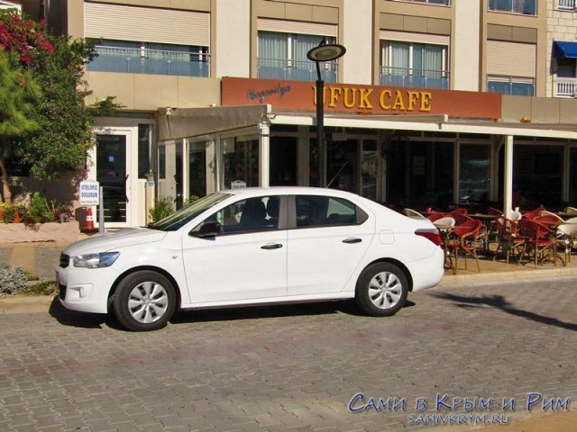 Бесплатная парковка у кафе