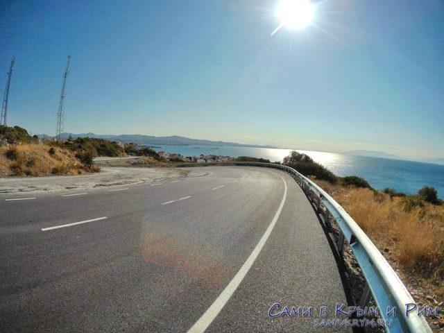Дорога к развалинам Теос