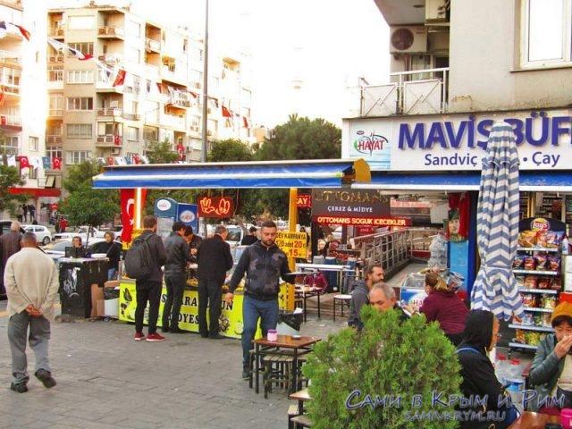 Хаотичная торговля на улицах