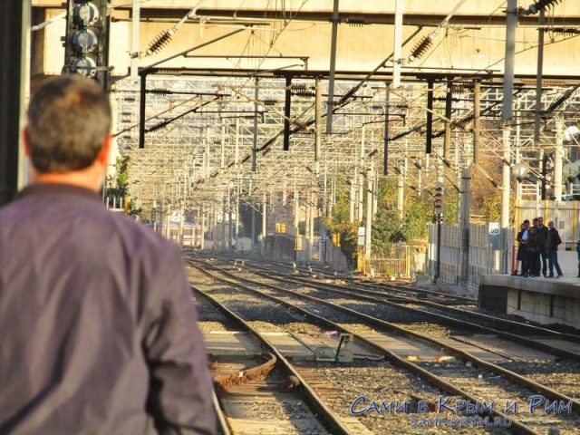 Наземная линия метро в Измире