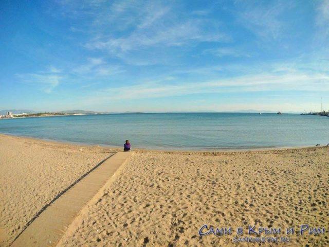 Пляж в Дидиме