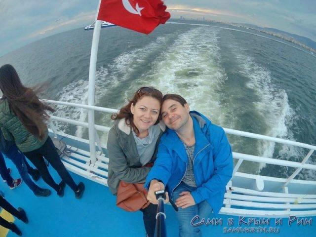 Прогулка на пароме по Измирской бухте