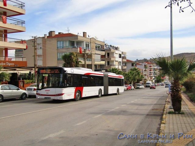 Современные автобусы Измира