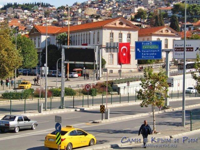 Центр Измира - дорожное управление
