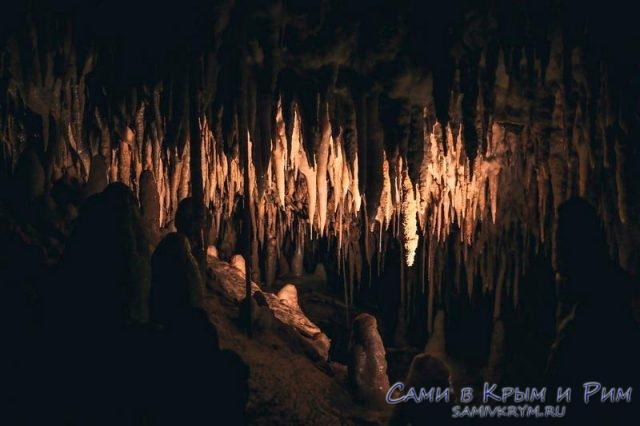Темные закоулки пещер