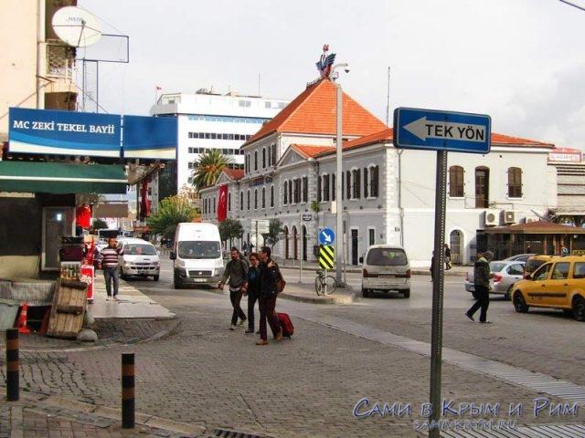Вокзал Басмане в Измире