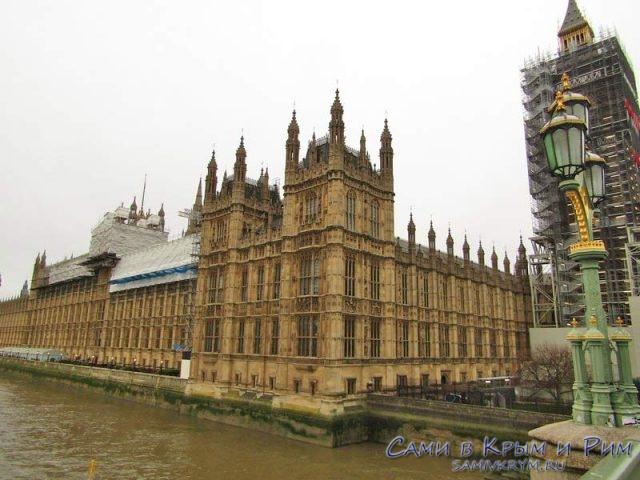БигБен и здание парламента