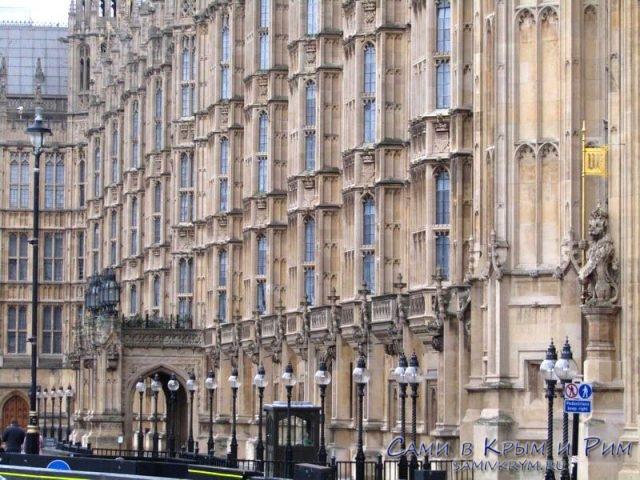 Фасад Вестминстерского дворца