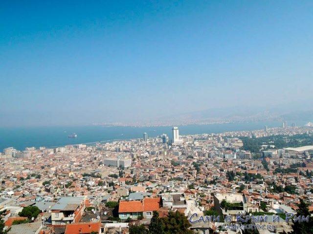 Измир - огромный город