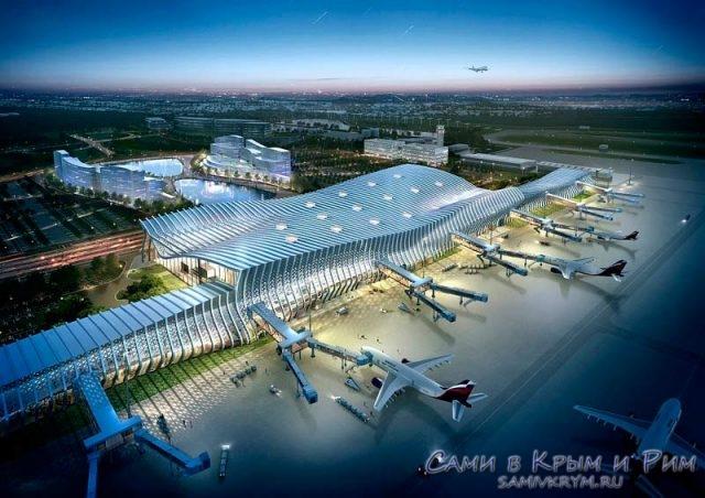 Новый аэровокзал Симферополя