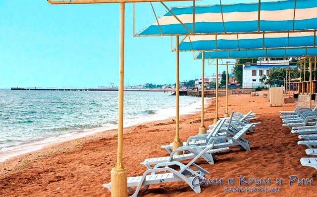 Пляж-Лазурный-берег
