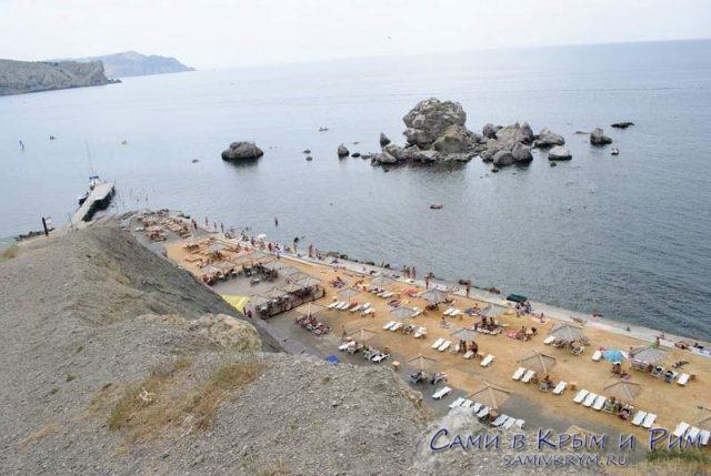 Пляж Мохито