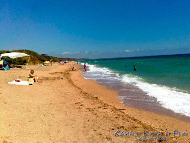 Пляж-Песчанка