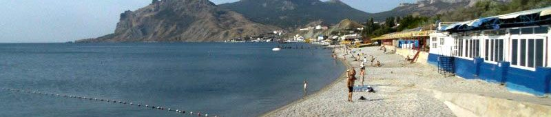 Пляжи справа от улицы Десантников