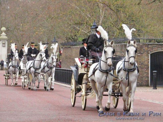 Прогулки на лошадях по парку в Лондоне