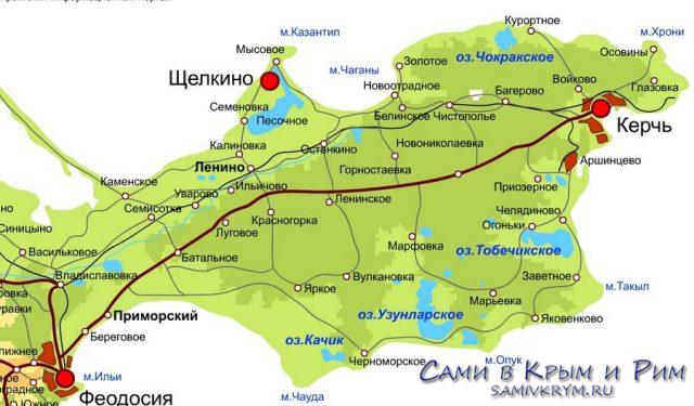 Керчь и Азовское море