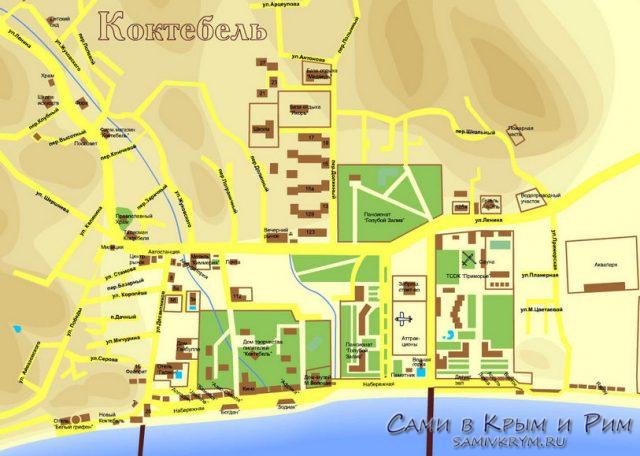 Koktebel_karta