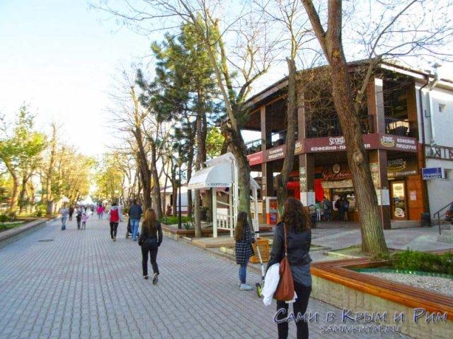 Пешеходная улица Фрунзе