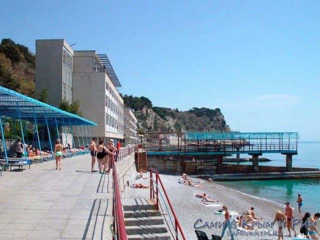Пляж отеля Рубикон