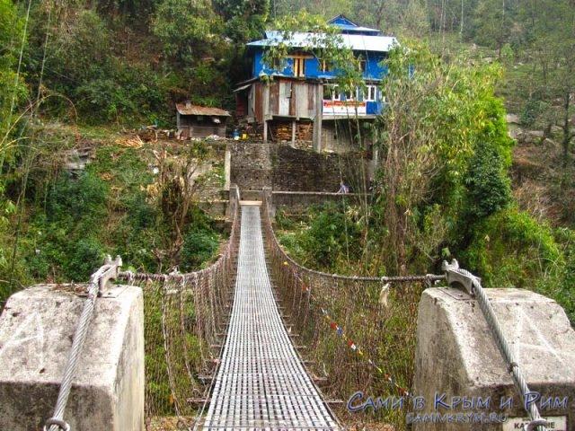 Подвесной мост Тхикедунге