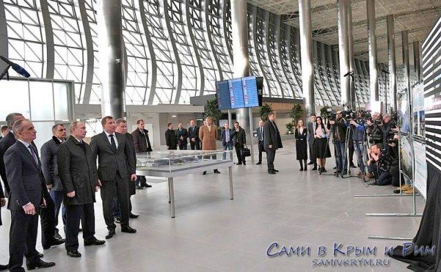 Путин-посетил-новый-терминал