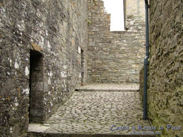 Средневековые улочки форта