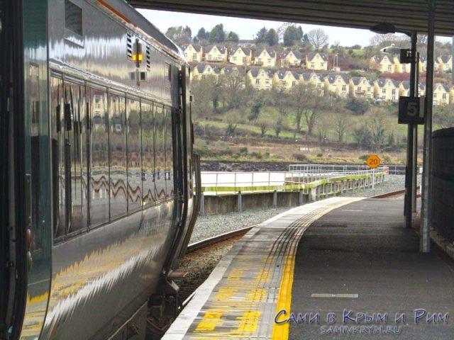 Вокзал в Уотерфорде