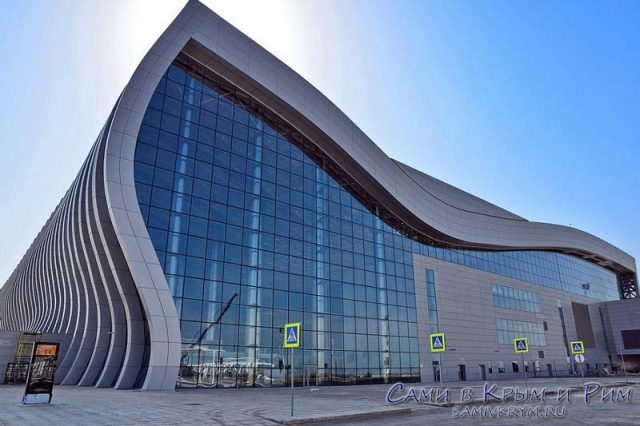 Здание-нового-терминала-в-Симферополе