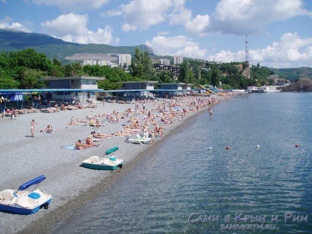 Пляжи санатория Крым