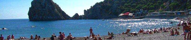 Городской пляж Симеиза