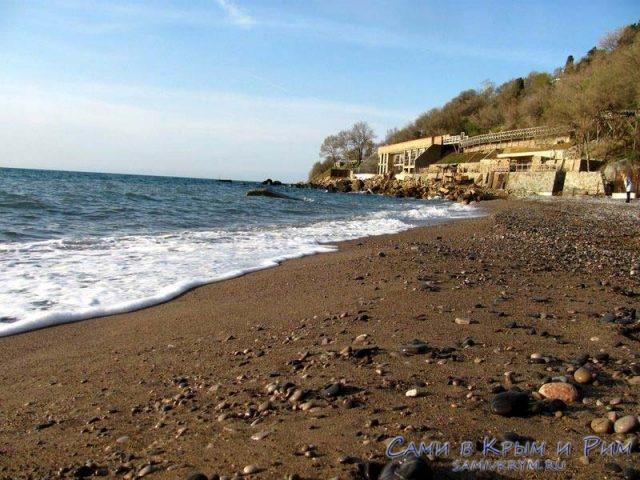 Пляж Черный Бугор